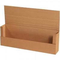 "Easy-Fold Mailers, Jumbo, Kraft, 36 x 12 x 6"""