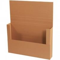 "Easy-Fold Mailers, Jumbo, Kraft, 36 x 24"""