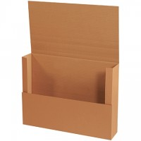 "Easy-Fold Mailers, Jumbo, Kraft, 30 x 22"""