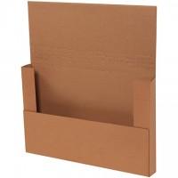 "Easy-Fold Mailers, Kraft, 17 1/4 x 11 1/4"""