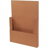 "Easy-Fold Mailers, Kraft, 17 1/8 x 14 1/8"""