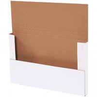 Easy-Fold Mailers, White, 14 1/8 x 8 5/8""