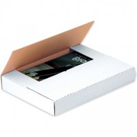 """Easy-Fold Mailers, White, 15 x 11 1/8"""", Multi-Depth Heights of 2, 3, 4, 5, 6"""""""