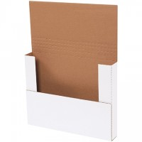Easy-Fold Mailers, White, 14 1/4 x 11 1/4""