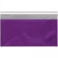 Glamour Mailers, Flat, Metallic Purple, 6 1/4 x 10 1/4""