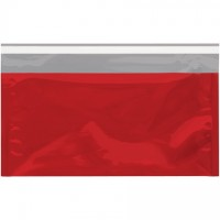 Glamour Mailers, Flat, Metallic Red, 6 1/4 x 10 1/4""