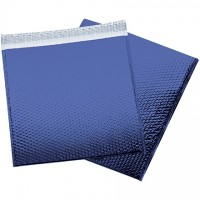 Glamour Bubble Mailers, Blue, 16 x 17 1/2""