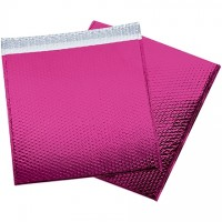 Glamour Bubble Mailers, Pink, 16 x 17 1/2""