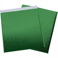 Glamour Bubble Mailers, Green, 19 x 22 1/2""
