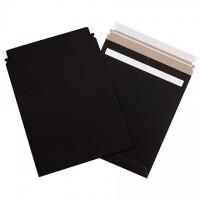 "Flat Mailers, Self-Seal, 11 x 13 1/2"", Black"