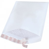 Bubble Mailers, White, #3, 8 1/2 x 14 1/2""