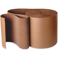 Corrugated Wrap Roll, 48 x 250', A Flute