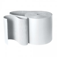 Corrugated Wrap Roll, 48 x 250', B Flute, White