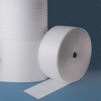 """Shipping Foam Rolls, 1/4"""" Thick, 12"""" x 250', Perforated"""