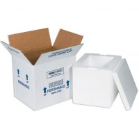 """Insulated Shipping Kits, 8 x 6 x 10"""""""