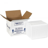 """Insulated Shipping Kits, 6 x 5 x 7"""""""