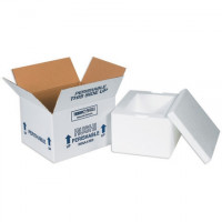 """Insulated Shipping Kits, 8 x 6 x 7 1/4"""""""