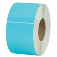 Light Blue Thermal Transfer Labels, 4 x 6""