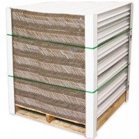"Heavy Duty Edge Protectors - .225"" Thick, 2 x 2 x 24"""