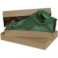 Chipboard Boxes, Apparel, Kraft, 24 x 14 x 4""