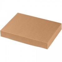 Chipboard Boxes, Apparel, Kraft, 11 1/2 x 8 1/2 x 1 5/8""