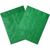 Tyvek® Envelopes, Green, 12 x 15 1/2""