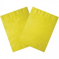 Tyvek® Envelopes, Yellow, 12 x 15 1/2""