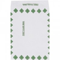 "Tyvek® Self-Seal Expandable ""First Class"" Envelopes, 10 x 13 x 1 1/2"""