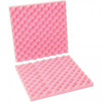 "Anti-Static Convoluted Foam Sets - 16 x 16 x 2"" , 2 Sheets Per Set"