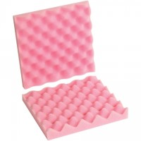"Anti-Static Convoluted Foam Sets - 10 x 10 x 2"" , 2 Sheets Per Set"