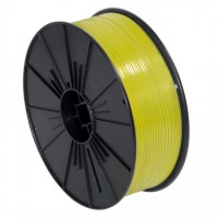 "Plastic Twist Tie Spool, Yellow 5/32"" x 7000'"