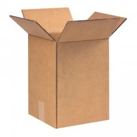 "Double Wall Corrugated Boxes, 9 x 9 x 13"", 48 ECT"
