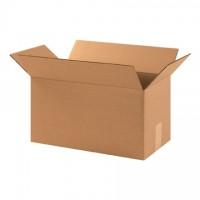 "Corrugated Boxes, 17 x 9 x 9"", Kraft"
