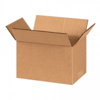 "Corrugated Boxes, 8 x 5 x 4"", Kraft"