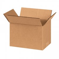 "Corrugated Boxes, 8 x 5 x 5"", Kraft"