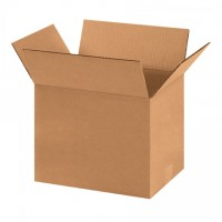 "Corrugated Boxes, 11 3/4 x 8 3/4 x 8 3/4"", Kraft"