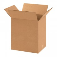 "Corrugated Boxes, 11 1/4 x 8 3/4 x 14"", Kraft"