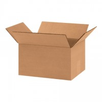 "Corrugated Boxes, 11 x 8 x 6"", Kraft"