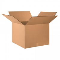 """Double Wall Corrugated Boxes, 24 x 24 x 18"""", 48 ECT"""