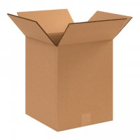 """Double Wall Corrugated Boxes, 12 1/2 x 12 1/2 x 15"""", 48 ECT"""