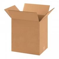 "Corrugated Boxes, Heavy Duty, 11 1/4 x 8 3/4 x 12"", Kraft"