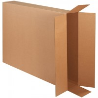 Corrugated Boxes, Side Loading, Double Wall, 40 x 8 x 50""