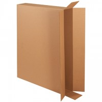 Corrugated Boxes, Side Loading, Double Wall, 44 x 6 x 35""