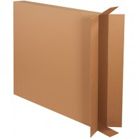 Corrugated Boxes, Side Loading, Double Wall, 40 x 5 x 45""