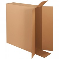 Corrugated Boxes, Side Loading, Double Wall, 36 x 8 x 30""