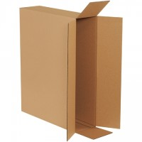 Corrugated Boxes, Side Loading, 26 x 6 x 20""