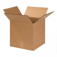 "Corrugated Boxes, 13 x 13 x 13"", 48 ECT Double Wall, Cube"