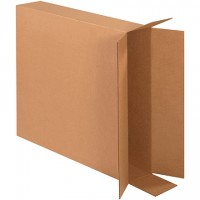 Corrugated Boxes, Side Loading, Double Wall, 30 x 6 x 30""