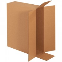 Corrugated Boxes, Side Loading, Double Wall, 24 x 6 x 18""