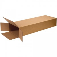 Corrugated Boxes, Side Loading, Double Wall, 18 x 7 x 52""